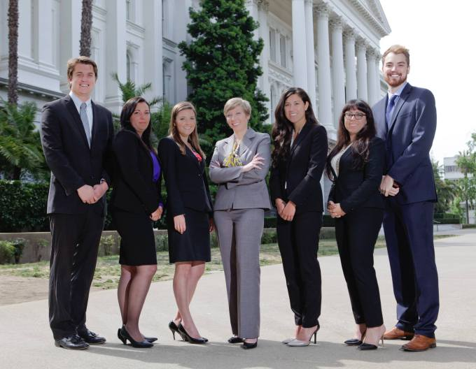 Ryan and his Law Review Team